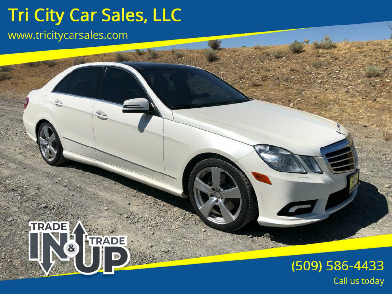 2011 Mercedes-Benz E-Class for sale at Tri City Car Sales, LLC in Kennewick WA