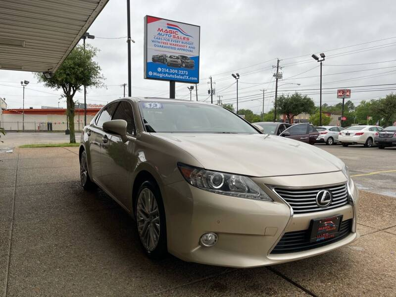 2013 Lexus ES 350 for sale at Magic Auto Sales in Dallas TX