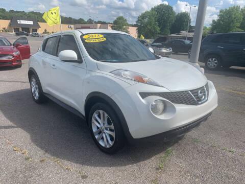2013 Nissan JUKE for sale at CarsPlus in Scottsboro AL