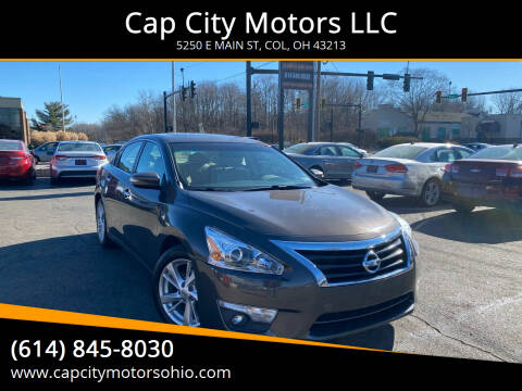 2013 Nissan Altima for sale at Cap City Motors LLC in Columbus OH
