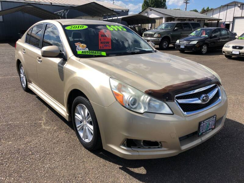 2010 Subaru Legacy for sale at Freeborn Motors in Lafayette, OR