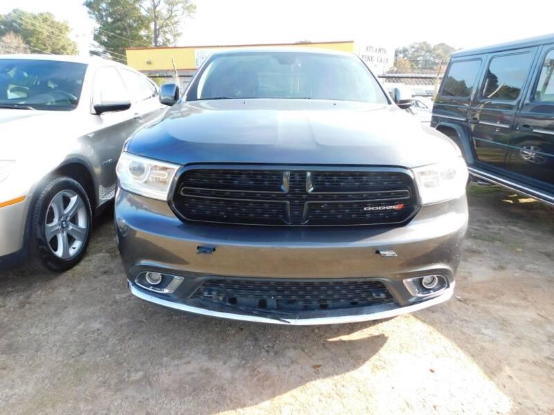 2016 Dodge Durango for sale at Atlanta Fine Cars in Jonesboro GA