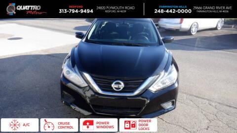 2016 Nissan Altima for sale at Quattro Motors 2 in Farmington Hills MI