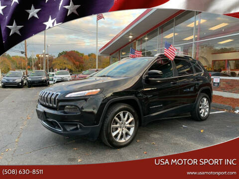 2014 Jeep Cherokee for sale at USA Motor Sport inc in Marlborough MA