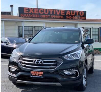 2017 Hyundai Santa Fe Sport for sale at Executive Auto in Winchester VA