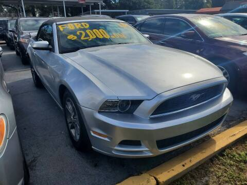 2014 Ford Mustang for sale at America Auto Wholesale Inc in Miami FL