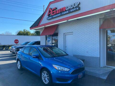 2015 Ford Focus for sale at AG AUTOGROUP in Vineland NJ