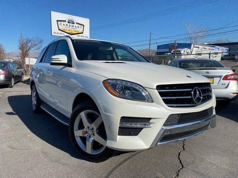 2013 Mercedes-Benz M-Class for sale at CarSmart Auto Group in Murray UT
