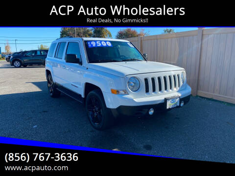 2015 Jeep Patriot for sale at ACP Auto Wholesalers in Berlin NJ