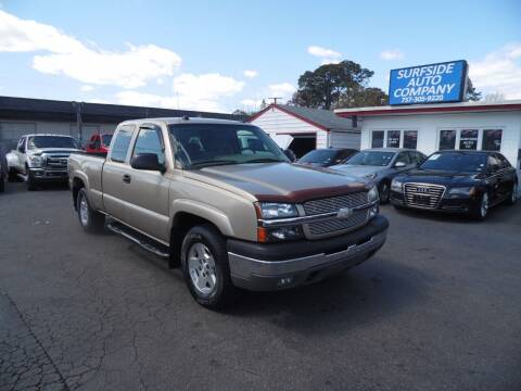2004 Chevrolet Silverado 1500 for sale at Surfside Auto Company in Norfolk VA
