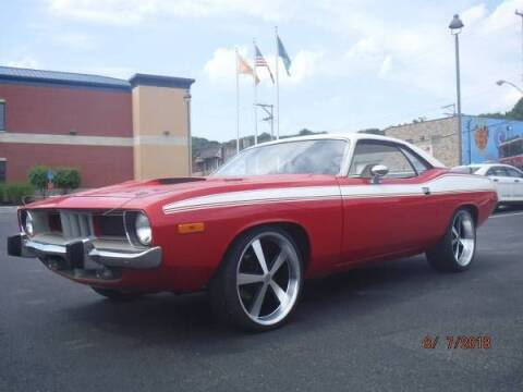 1974 Plymouth Barracuda for sale at Classic Car Deals in Cadillac MI