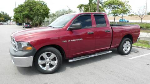 2011 RAM Ram Pickup 1500 for sale at Quality Motors Truck Center in Miami FL