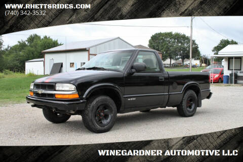 1999 Chevrolet S-10 for sale at WINEGARDNER AUTOMOTIVE LLC in New Lexington OH