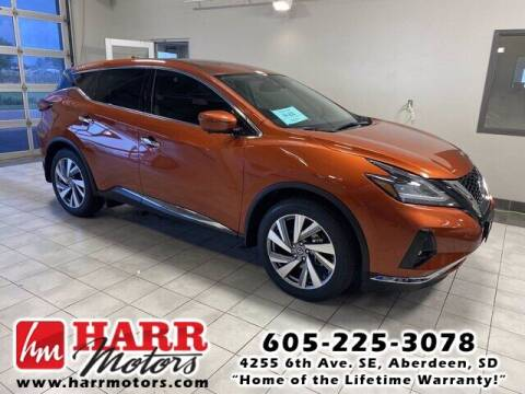 2021 Nissan Murano for sale at Harr's Redfield Ford in Redfield SD