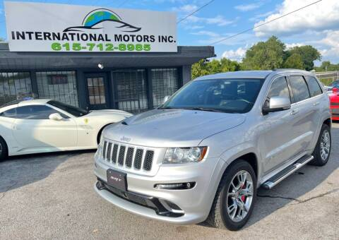 2012 Jeep Grand Cherokee for sale at International Motors Inc. in Nashville TN