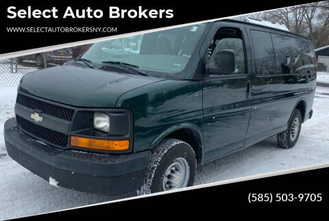 2007 Chevrolet Express Passenger for sale at Select Auto Brokers in Webster NY