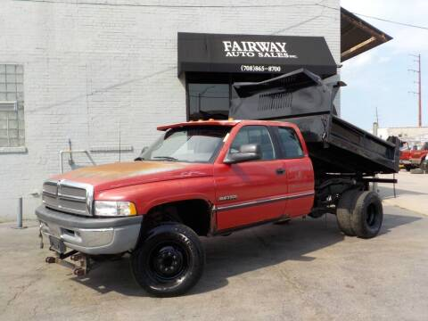 1995 Dodge Ram Pickup 3500 for sale at FAIRWAY AUTO SALES, INC. in Melrose Park IL