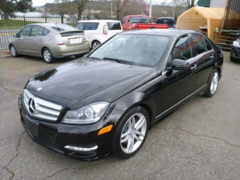 2013 Mercedes-Benz C-Class for sale at Precision Motors LLC in Renton WA
