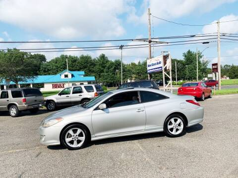 2005 Toyota Camry Solara for sale at New Wave Auto of Vineland in Vineland NJ