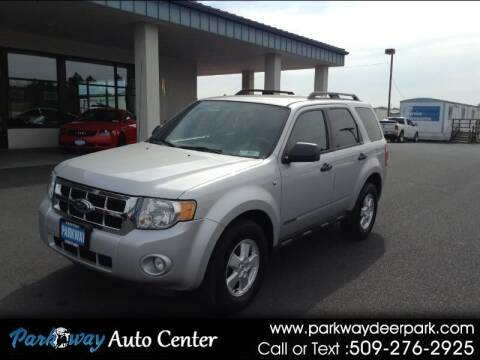 2008 Ford Escape for sale at PARKWAY AUTO CENTER AND RV in Deer Park WA