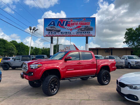 2017 Toyota Tacoma for sale at ANF AUTO FINANCE in Houston TX