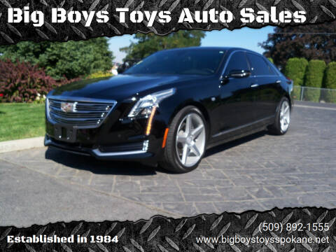 2016 Cadillac CT6 for sale at Big Boys Toys Auto Sales in Spokane Valley WA