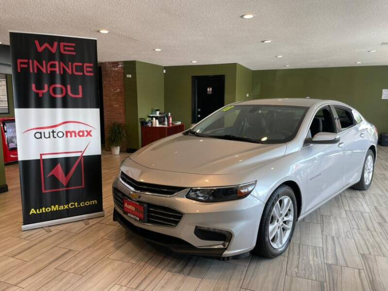 2018 Chevrolet Malibu for sale at AutoMax in West Hartford CT