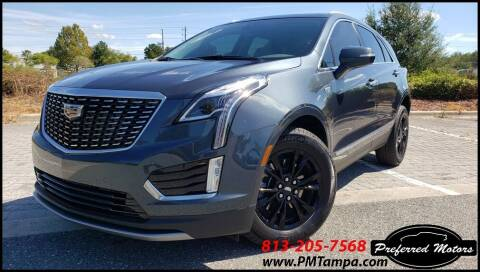 2021 Cadillac XT5 for sale at PREFERRED MOTORS in Tampa FL