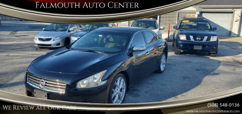2009 Nissan Maxima for sale at Falmouth Auto Center in East Falmouth MA