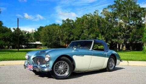 1960 Austin-Healey 3000 MK1 for sale at P J'S AUTO WORLD-CLASSICS in Clearwater FL