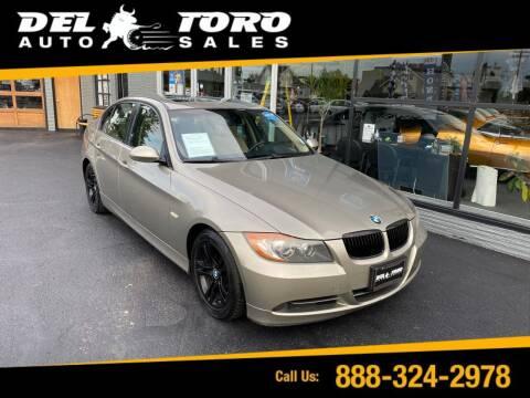 2008 BMW 3 Series for sale at DEL TORO AUTO SALES in Auburn WA