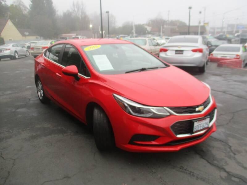 2018 Chevrolet Cruze for sale at Quick Auto Sales in Modesto CA