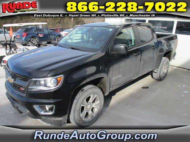 2018 Chevrolet Colorado for sale at Runde Chevrolet in East Dubuque IL