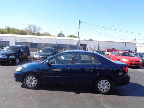 2004 Toyota Corolla for sale at Cars Unlimited Inc in Lebanon TN