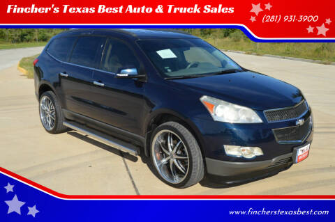 2012 Chevrolet Traverse for sale at Fincher's Texas Best Auto & Truck Sales in Tomball TX