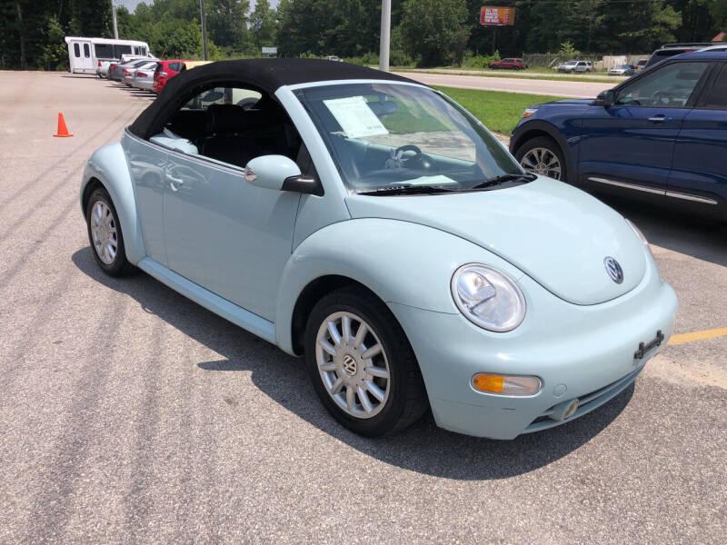 2004 Volkswagen New Beetle Convertible for sale in Fuquay Varina, NC