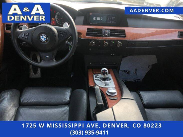 2006 BMW M5 4dr Sedan - Denver CO