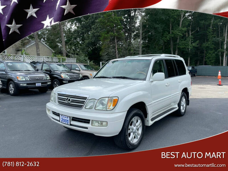 2005 Lexus LX 470 for sale at Best Auto Mart in Weymouth MA