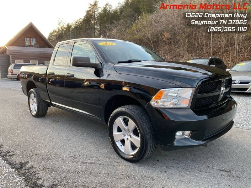 2012 RAM Ram Pickup 1500 for sale at Armenia Motors in Seymour TN