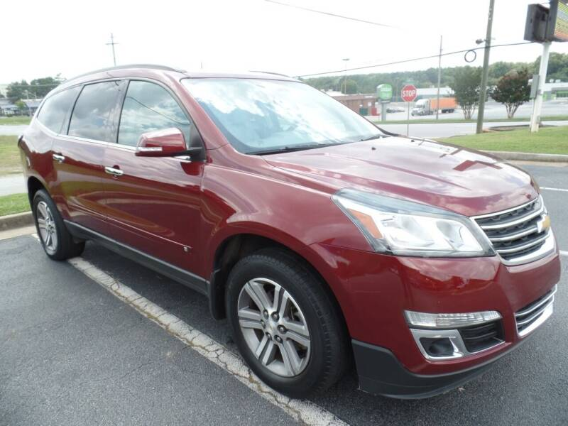 2015 Chevrolet Traverse for sale at United Automotive Group in Griffin GA