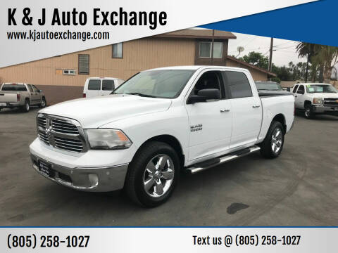 2016 RAM Ram Pickup 1500 for sale at K & J Auto Exchange in Santa Paula CA