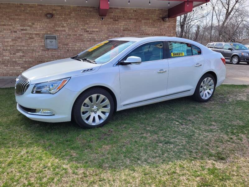 2016 Buick LaCrosse for sale at Murdock Used Cars in Niles MI