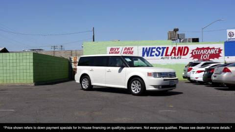 2012 Ford Flex for sale at Westland Auto Sales on 7th in Fresno CA