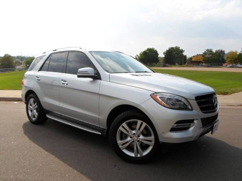 2014 Mercedes-Benz M-Class for sale at Nations Auto in Lakewood CO