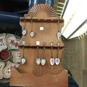 antique spoon set for sale at BENHAM AUTO INC - Peace of Mind Treasures and More Store in Lubbock TX