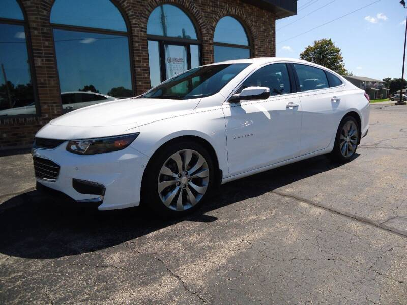 2016 Chevrolet Malibu for sale at VON GLAHN AUTO SALES in Platteville WI