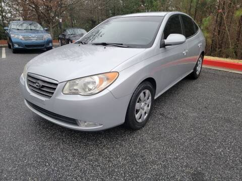 2007 Hyundai Elantra for sale at MJ AUTO BROKER in Alpharetta GA