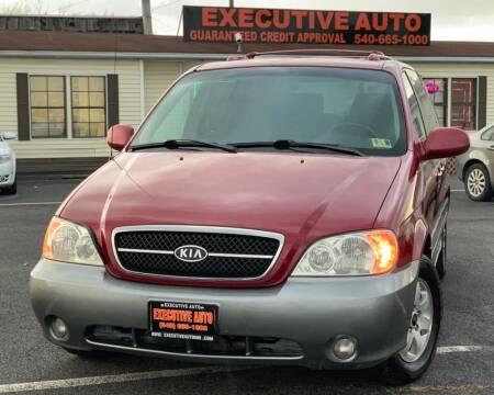 2004 Kia Sedona for sale at Executive Auto in Winchester VA