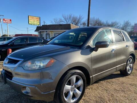 2008 Acura RDX for sale at Texas Select Autos LLC in Mckinney TX