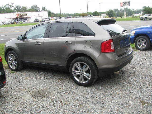 2013 Ford Edge for sale at Johnson Used Cars Inc. in Dublin GA